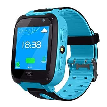 Famyfamy Niños Teléfono Smartwatch, Inteligente Reloj con GPS gsm ...