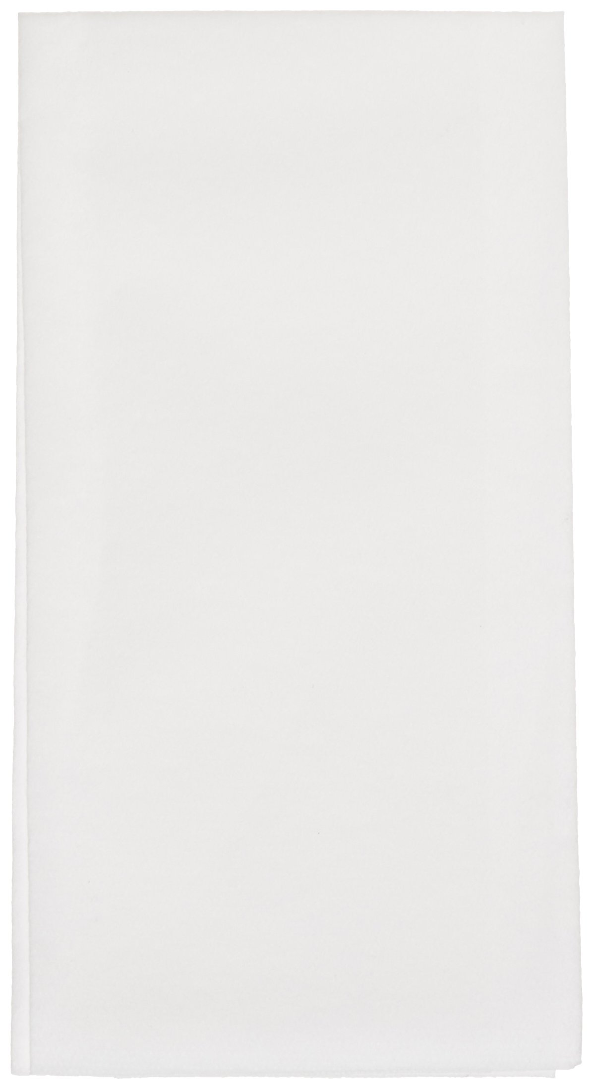 Hoffmaster 856802 Linen-Like Guest Towel, 1/6 Fold, 17'' Length x 12'' Width, White (Case of 300)