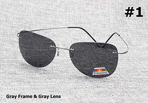 sol titanio hombre 3 Gafas para de 1 de Aprigy polarizadas ultraligeras Fashion aRxTTYn7