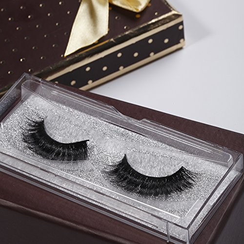 False Mink Eyelashes 2 Pairs Thick 3D Makeup Natural Eye Lash Extension Long Black Handmade Soft Wear Suitable For Any Occasion