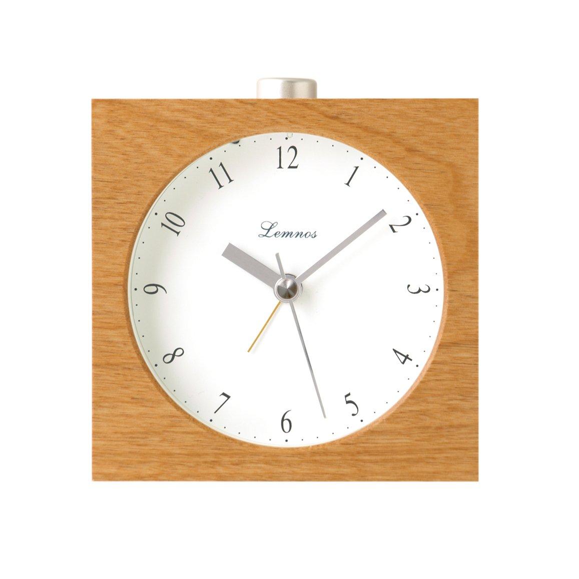 Lemnos Nocturne アラーム時計 ナチュラル PA09-10 NT B002XZ3VSSナチュラル