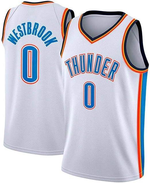 AKCHIUY Camiseta De Baloncesto Russell Westbrook # 0 Camiseta De ...