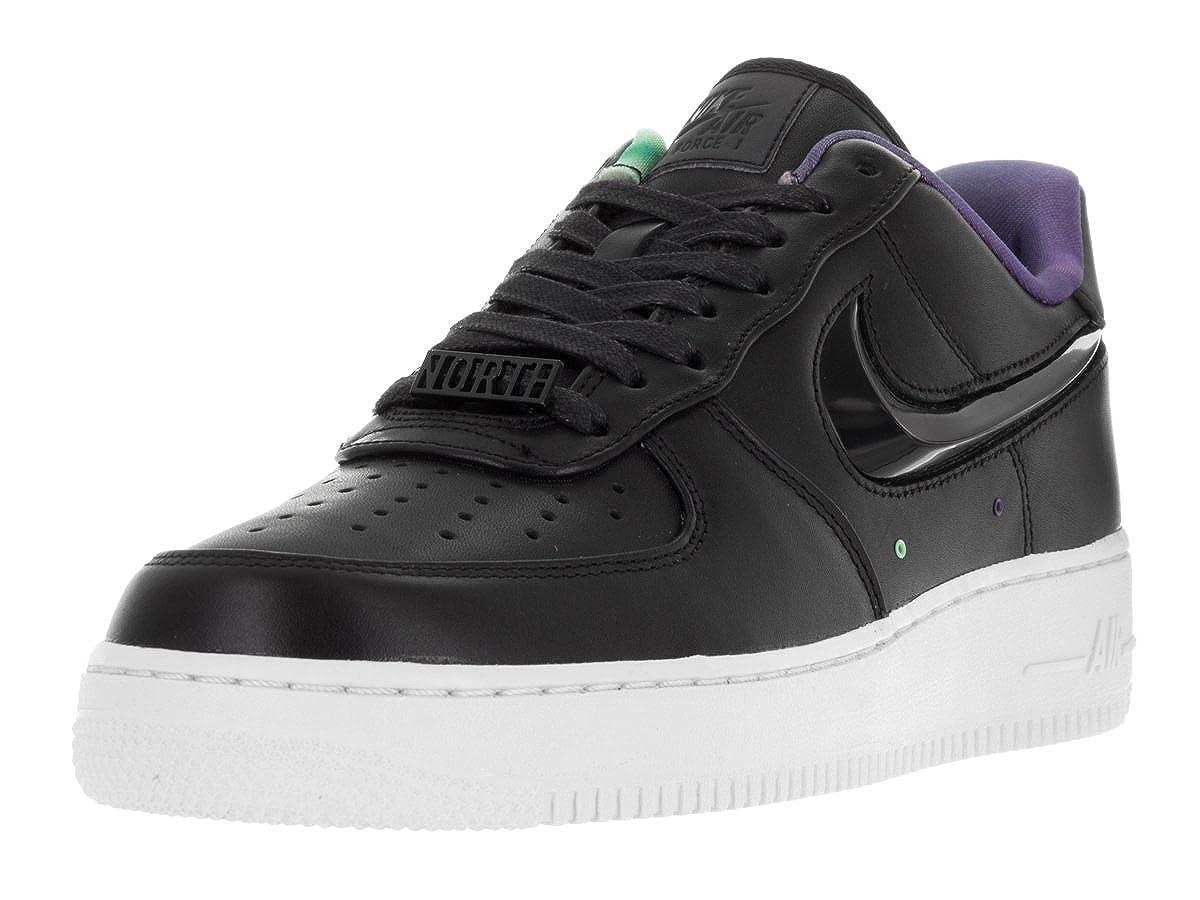 NikeメンズAir Force 1 ' 07 lv8 QSバスケットボールシューズとして B01BJCLH4K  ブラック/ホワイト 11.5 D(M) US