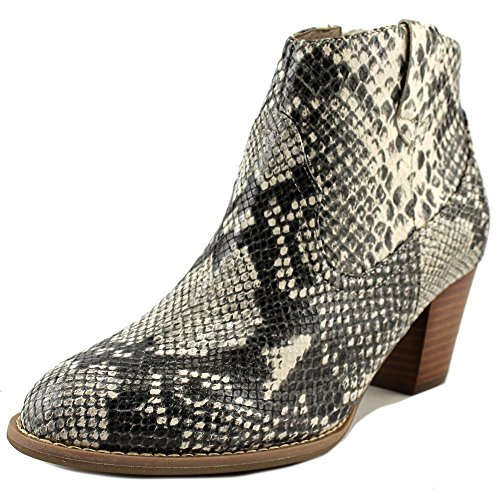 VIONIC Women's Upright Windom Western Ankle Boot Natural Snake Boot by Vionic