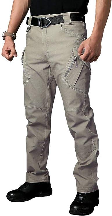 Refire Gear Pantalones De Carga Tacticos De Algodon Para Hombre Al Aire Libre Militar Pantalones De Trabajo Amazon Es Ropa Y Accesorios
