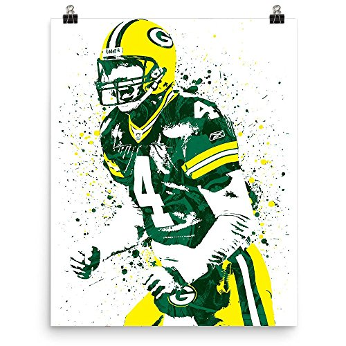 Brett Favre Green Bay Packers - Wall Brett Poster Favre