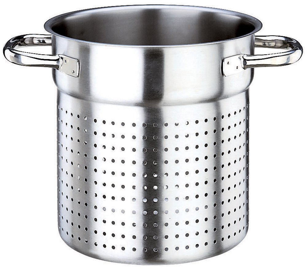 Paderno World Cuisine 7 7/8 Inch Stainless Steel Stock Pot Colander 11123-20