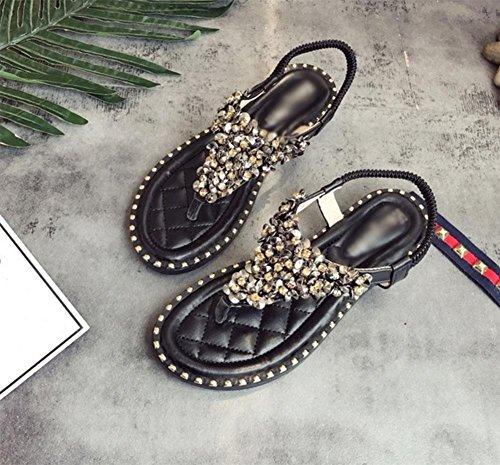 Diamant-Stücke befestigen Zehefrausandelholze elastischer Gurt Freizeit wilde Frauensandelholzen Weisefrauensandelholze flach black