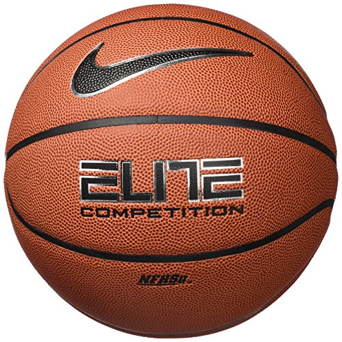 "Nike Elite Competition 8-panel Basketball Ball Bb0446-801 Size 7 29.5"""