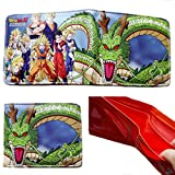 J&C Dragonball Z Characters Bi-fold Men's Boys Wallet
