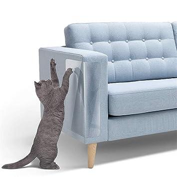 Juego de 4 protectores antiarañazos para sofá-cama con ...
