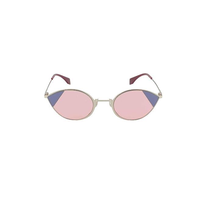 Fendi Gafas de Sol CUT EYE FF 0342/S SILVER PINK/PINK mujer ...