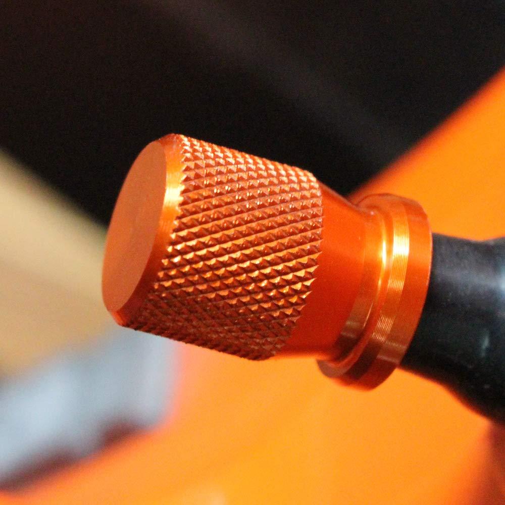 BXMoto Reifen Ventil Kappen Ventilstamm Ventilkappen Abdeckung Rad Staubdicht Kappe f/ür RC 125 200 390 Duke 125 200 390 250 2013-2017