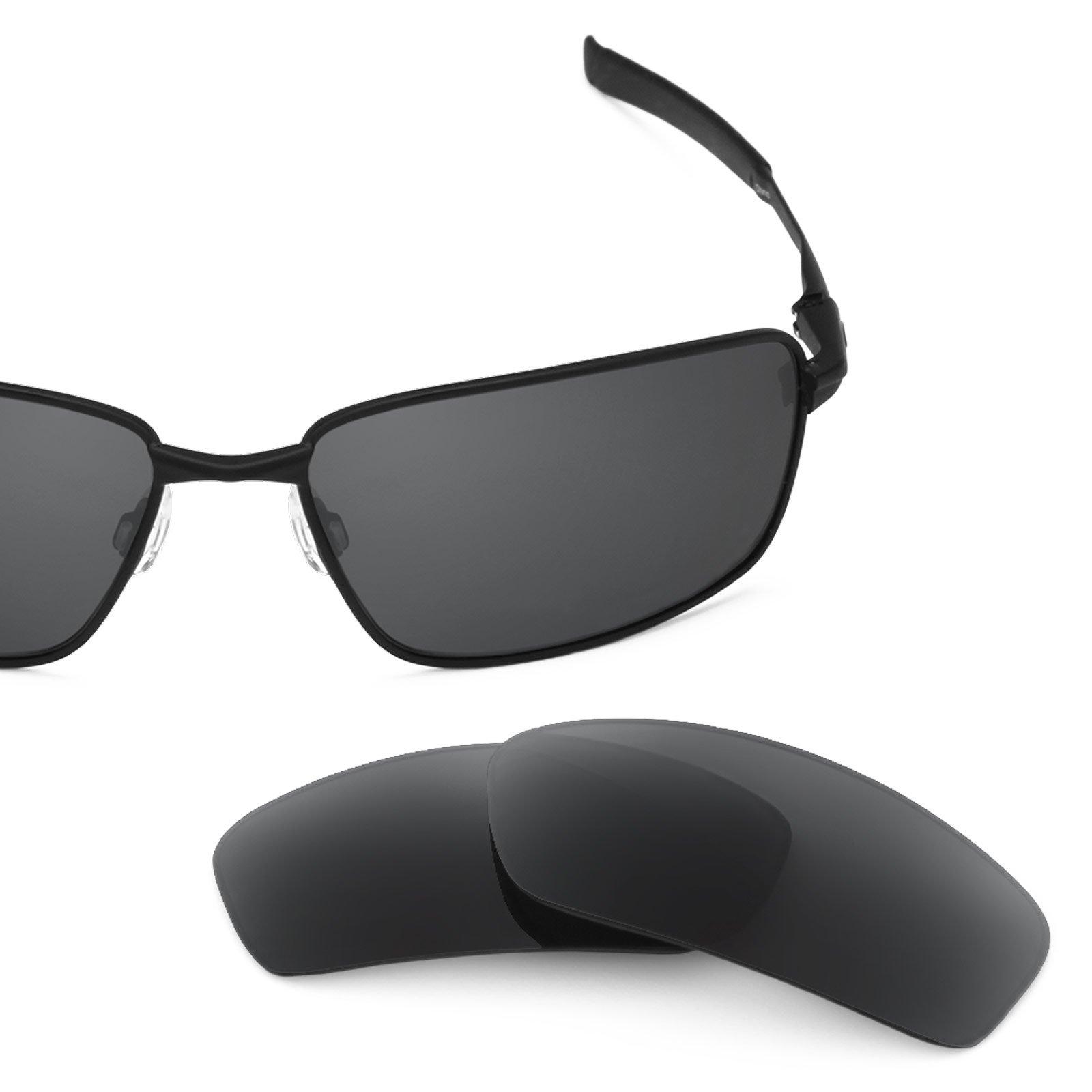 Revant Polarized Replacement Lenses for Oakley Splinter Stealth Black
