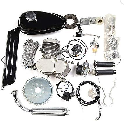 HWENK Kit de Motor de Bicicleta, 80Cc Motor de Motor de 2 Tiempos ...