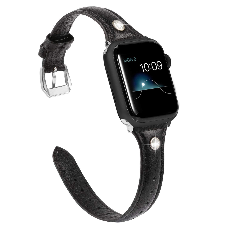 Malla Cuero para Apple Watch (38/40mm) WEARLIZER [7W119LVL]