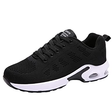 Zapatillas Running Mujer,YiYLunneo Malla Exterior Shoes