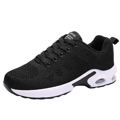 Zapatillas Running Mujer Zapatos Deporte para Correr Trail Fitness Sneakers Ligero Transpirable Beladla: Amazon.es: Zapatos y complementos