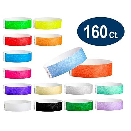 dc366895a1e2 WristCo Ultimate Variety Pack - Muñequeras Tyvek de 1,9 cm, 16 ...