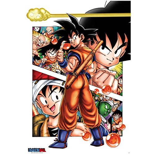 ABYstyle Poster Son Goku Story Dragon Ball 91,5x61cm
