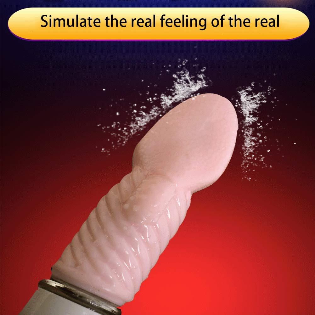 G punto masajeador-vibrador hembra masturbación masturbación masturbación lengüeta eléctrica AV Stick leche clip vibración huevo USB carga masaje palo,lengthened 46adf6