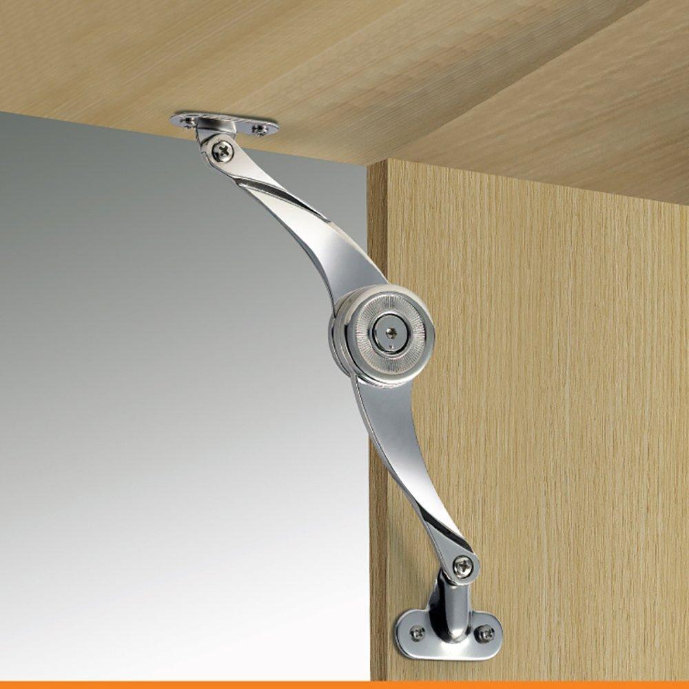 2 Pack Door Hinge Scimitar Style Lid Support Soft Close Tilt Up Cabinet  Quality