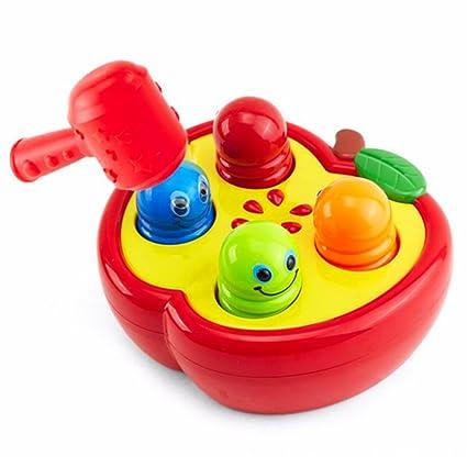 NiceButy divertido juguete de hámster para bebé, juguete para jugar al gusano