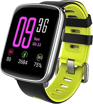 Reloj inteligente, smartwatch, de YAMAY®, con IP68, impermeable ...