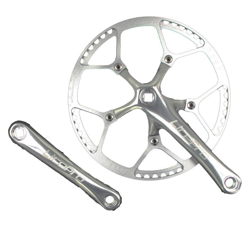 Retrospec Bicycles Fixed-Gear Crank Single-Speed Road Bicycle Forged Crankset...