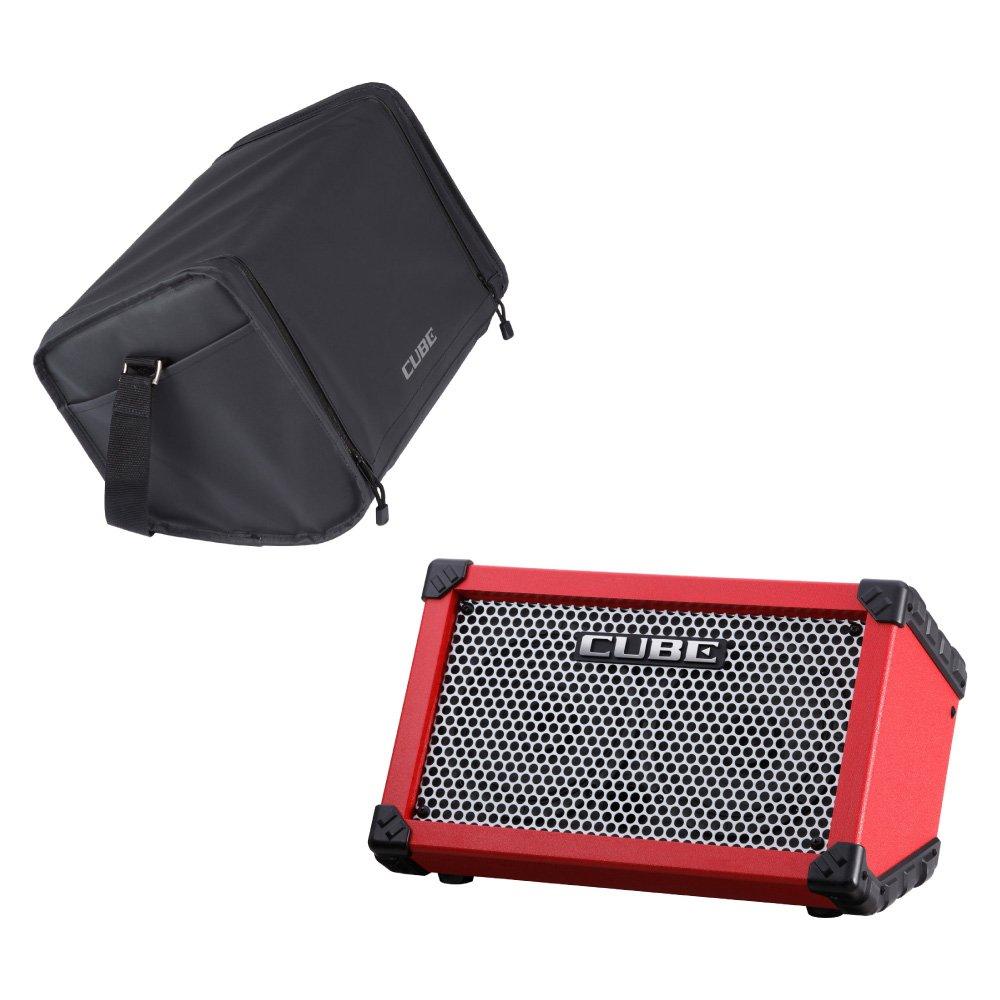 値引きする ROLAND CUBE Street RED RED CUBE Street 乾電池駆動可能ギターコンボアンプ キャリングバッグセット B00MBBQB1I, kinokoファッションショップ:fca77f26 --- a0267596.xsph.ru