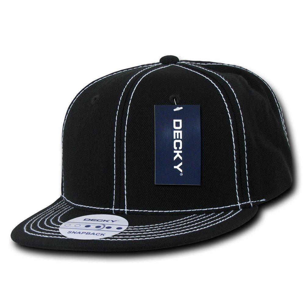 Herren Decky Contra Stitch Snap Back Baseball Cap