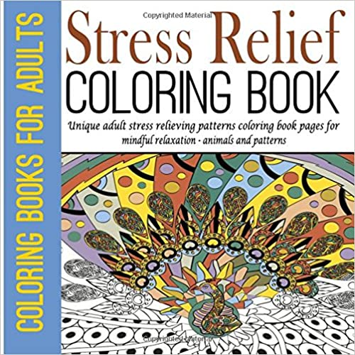 animals and patterns Coloring Books for Adults Unique adult stress relieving patterns coloring book pages for mindful relaxation