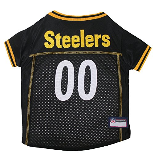 Pets First NFL Pittsburgh Steelers Premium Pet Jersey, - Premium Jersey