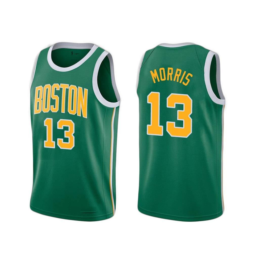 vert XXL Marcus Morris   13 Basketball Masculin Jersey - NBA Boston Celtics Swinghomme Sport Maillots T-Shirt