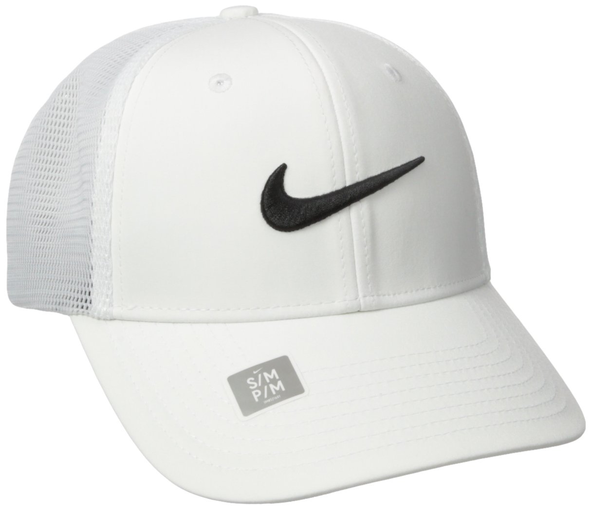 Amazon.com  Nike Legacy 91 Tour Mesh Fitted Hat 727031 XS Small White   Sports   Outdoors 02bfc757b37