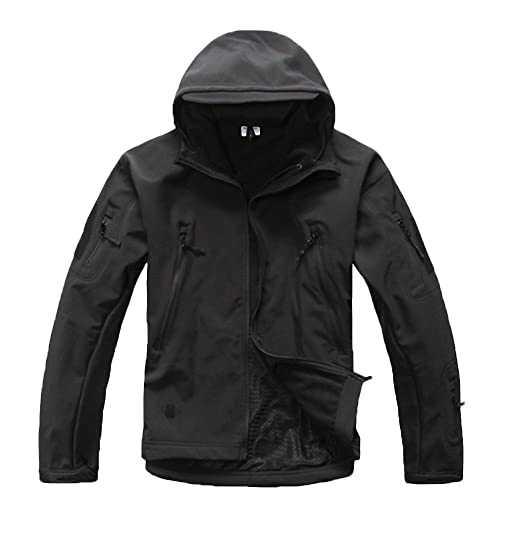 Soft Shell Military Outdoor Tactical Jacket Waterproof Windbreaker Camouflage Army Out Hunting Clothes 1 Xs