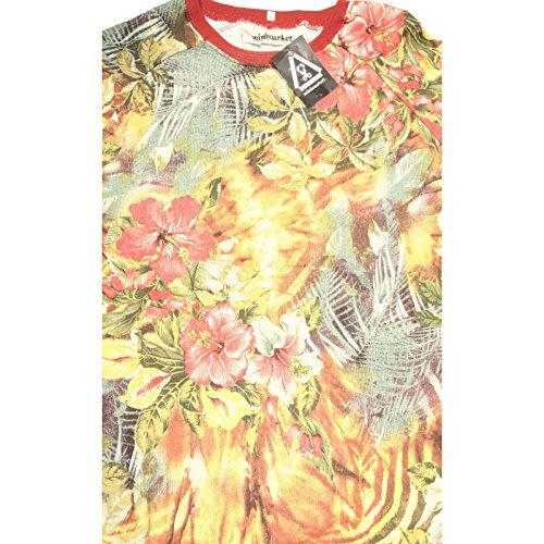 Rosso Uomo 68298 Allover Minimarket Multi Men Felpa Maglia Sweatshirt 6x8SfnqZXw