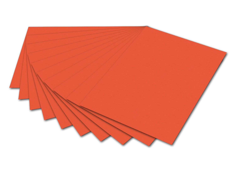 Max Bringmann Folia 6140 foto 50x70 cm de cartón, 300 gramos, paquete de 10 hojas de naranja [Importado de Alemania]: Amazon.es: Juguetes y juegos