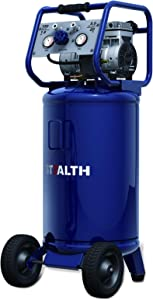 STEALTH Air Compressor, Ultra Quiet and Oil-Free 1.8 HP 20 Gallon