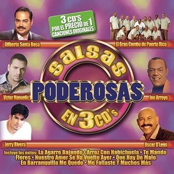 Salsas Poderosas En 3 Cds by Various Artists