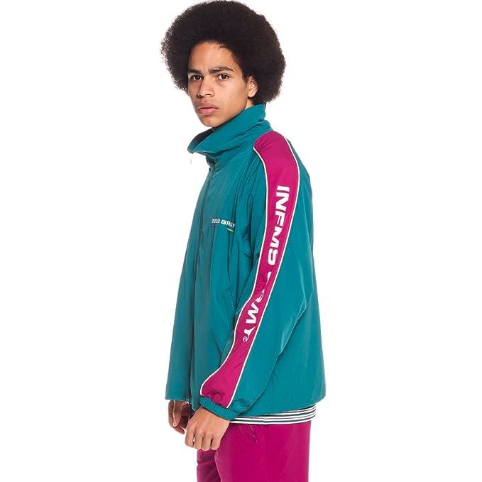 Grimey Track Jacket COUNTERBLOW SS18 Green: Amazon.es: Ropa ...
