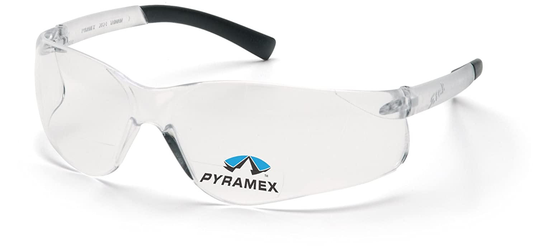 Pyramex Safety Ztek Readers S2510R25 - Occhiali protettivi con lenti da lettura trasparenti senza montatura, ingrandimento +2.5 Ztek ReadersTM