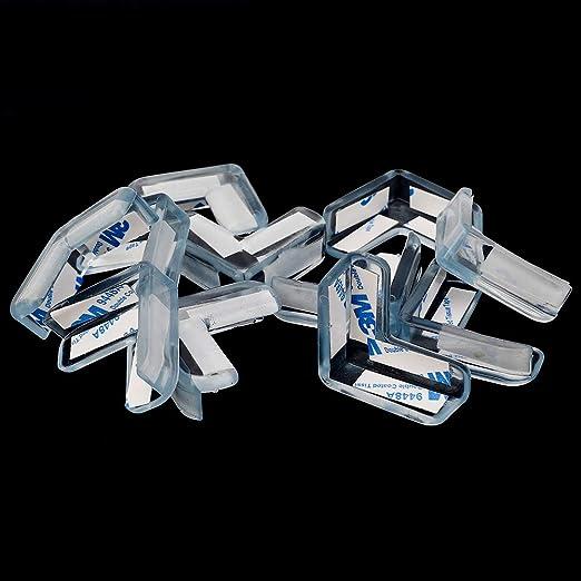 f/ür M/öbel Auidy/_6TXD Eckenschutz f/ür Babys Kantenschutz Tischecken transparent stark klebend Schutz f/ür Kinder gro/ß 26 St/ück weich und gro/ß