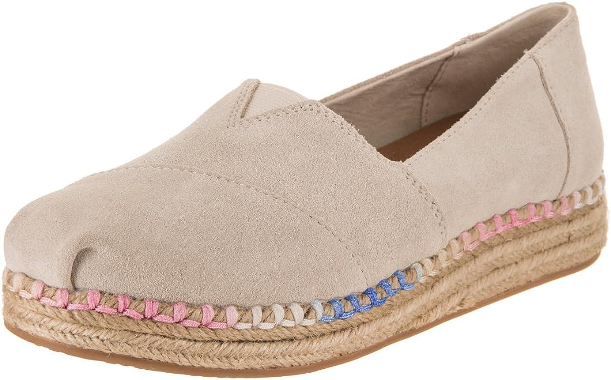 TOMS Platform Alpargata W Shoes Natural