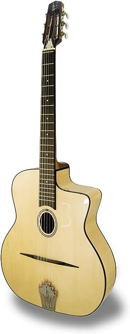 APC JM200 MPL -Guitarra Jazz Manouche: Amazon.es: Instrumentos ...