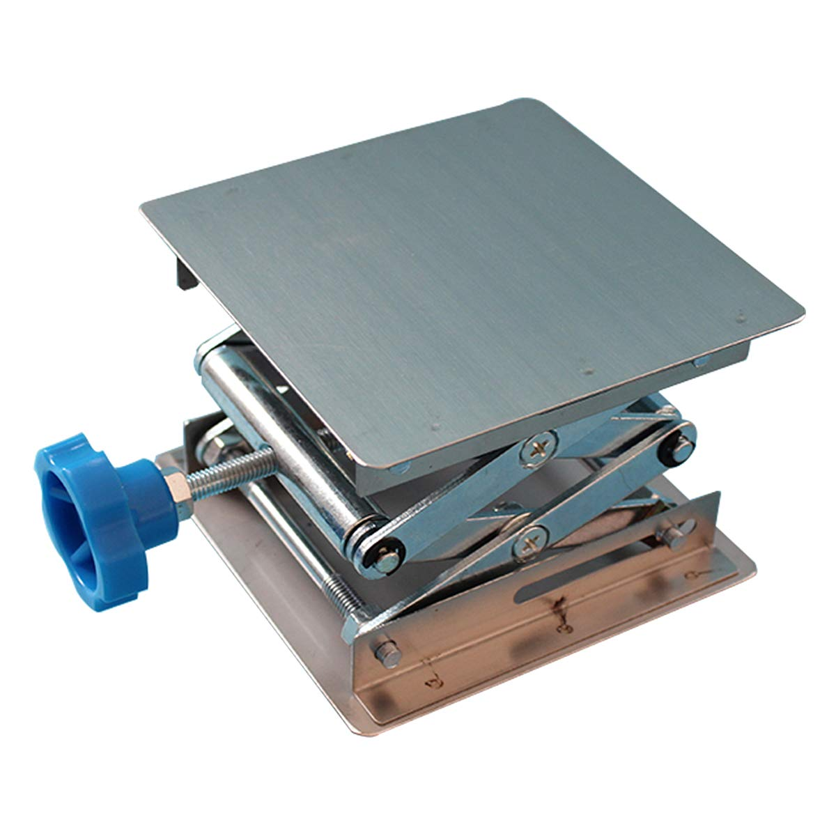 Stainless Steel Lab Jack Stand Table Lift Laboratory Jiffy Jack 4'' x 4''