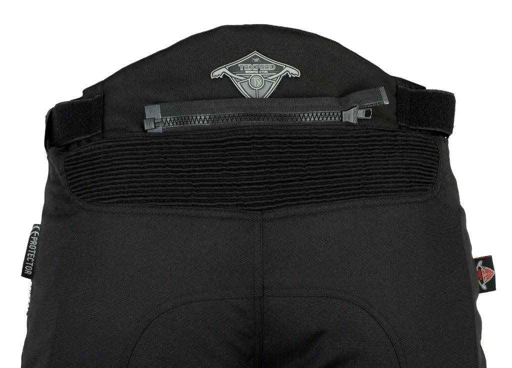 Wasserdicht Motorradhose mit Protektoren Texpeed Herren Grau mit Tarnfleckmuster Alle Gr/ö/ßen
