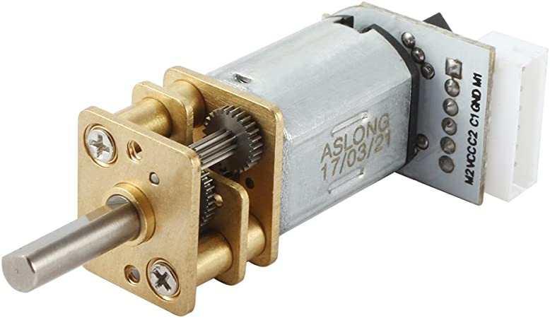 DC 6V 600RPM Mini Gearwheel Speed Reduce Geared Electric Motor with 3mm Shaft