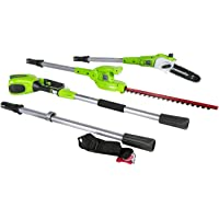 Deals on Greenworks 8.5-ft 40V Cordless Pole Saw w/Trimmer Attachment