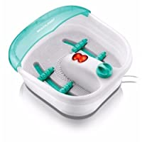 Massageador para os Pés Foot Spa Branco/Verde 220v HC007 - Serene
